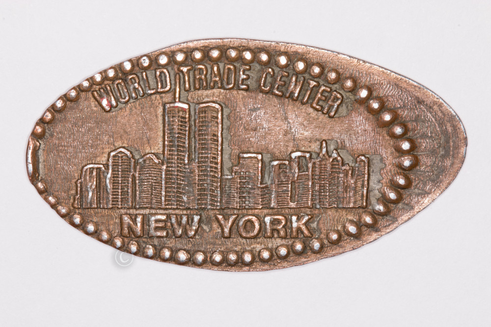 World Trade Center penny picture by fine art photographer Steven Archdeacon.
