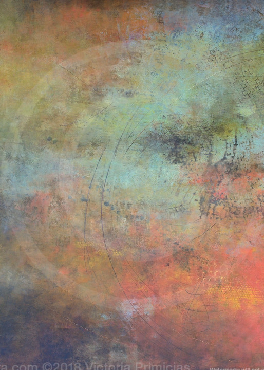 Round Rapport - Abstract Art - Canvas Art on Sale