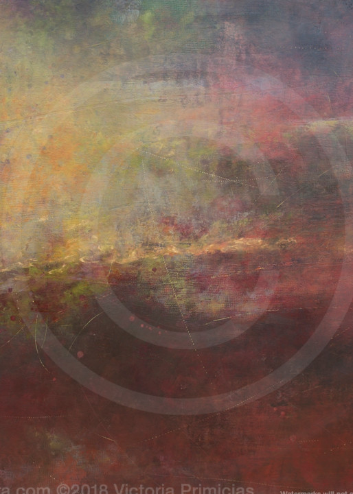 Beyond Yesterday - Abstract Art - Wall Art on Canvas