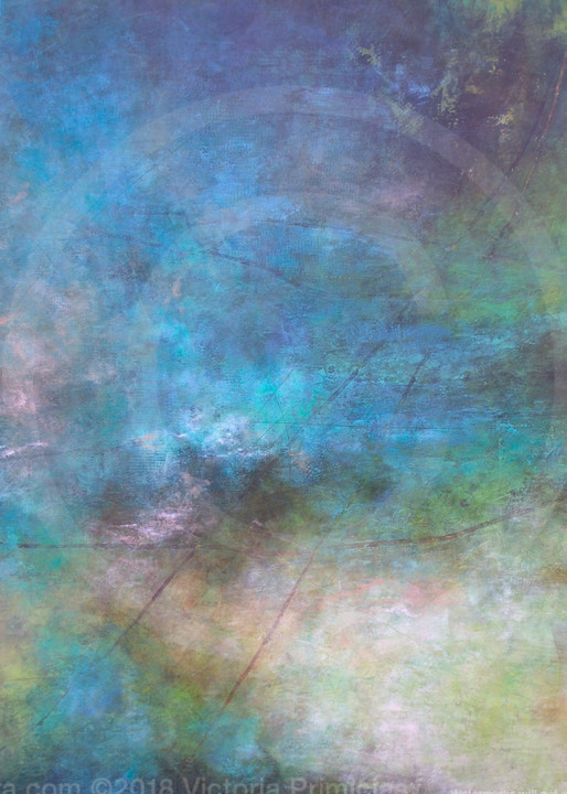 Rolling River - Abstract Canvas Wall Art - Artwork and Prints