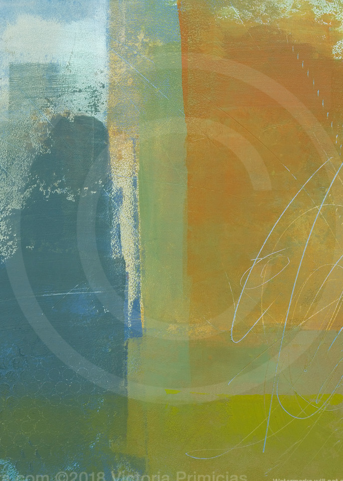 Through Heat - Abstract Painting - Contemporary Wall Art