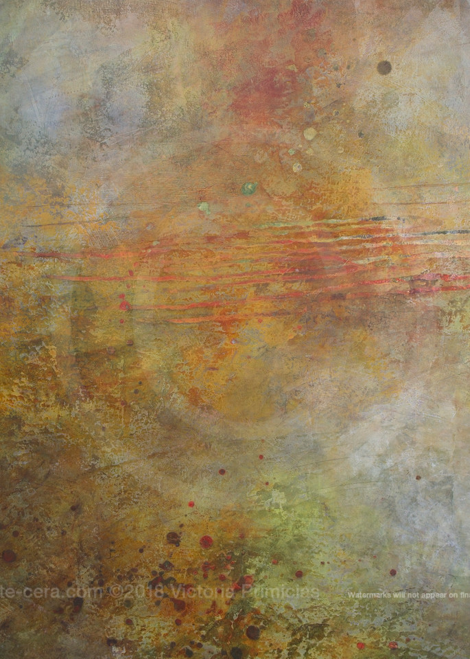Sun's Ashes - Contemporary Art for Sale - Modern Abstract Paintings