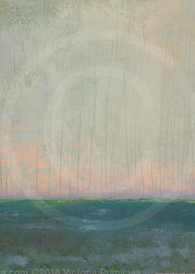 Since Forever - Ocean Wall Art - Abstract Landscape Painting