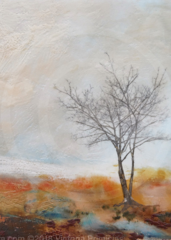 Crying River - Painting with Trees - Simple Paintings
