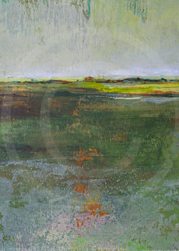 Verdant Excuse - Painting of Landscapes - Victoria Primicias