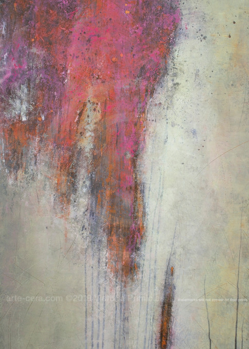 Pink Limerence - Modern Abstract Paintings - Primicias ART