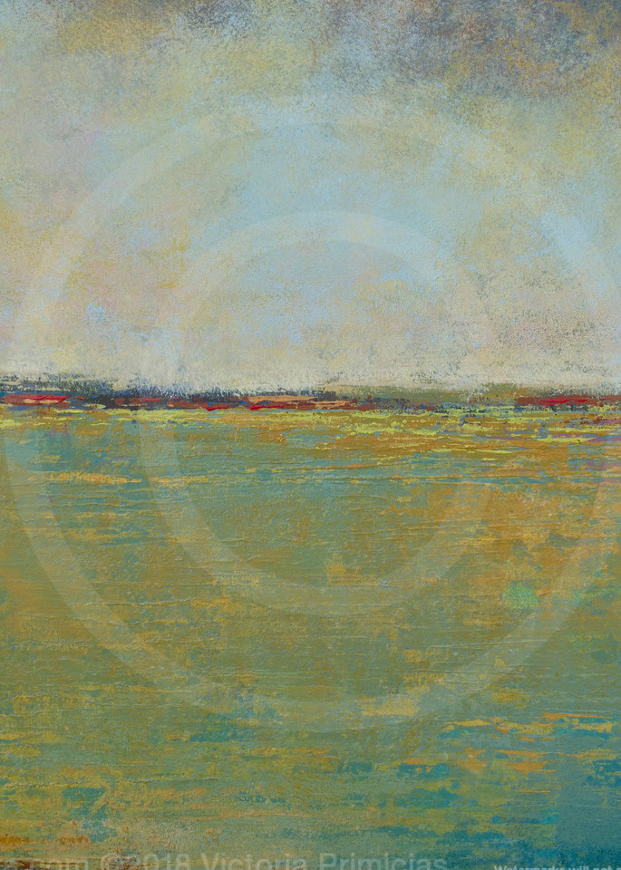 Crimson Kisses - Seascape Paintings - Yellow Wall Art