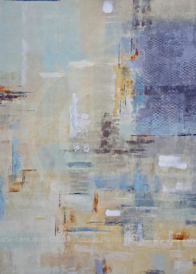 Laguna Lanes II - Wall Art on Canvas - Abstract Paintings
