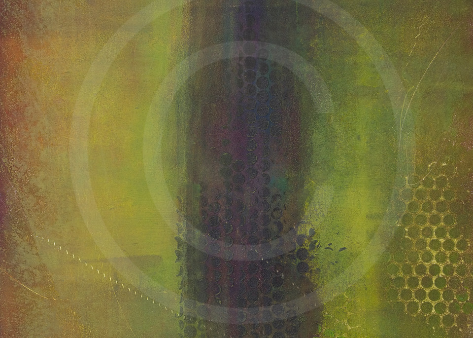 Behind Doors - Contemporary Abstract Painting - Artwork and Prints
