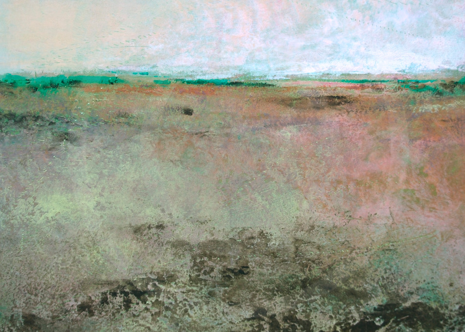 Coral Belles - Painting of Landscapes - Art and Prints