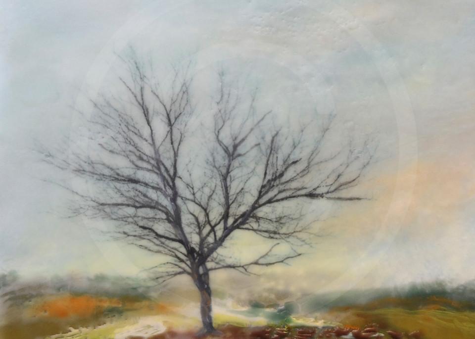 Silent Encore - Tree Painting - Art Prints for Home Décor