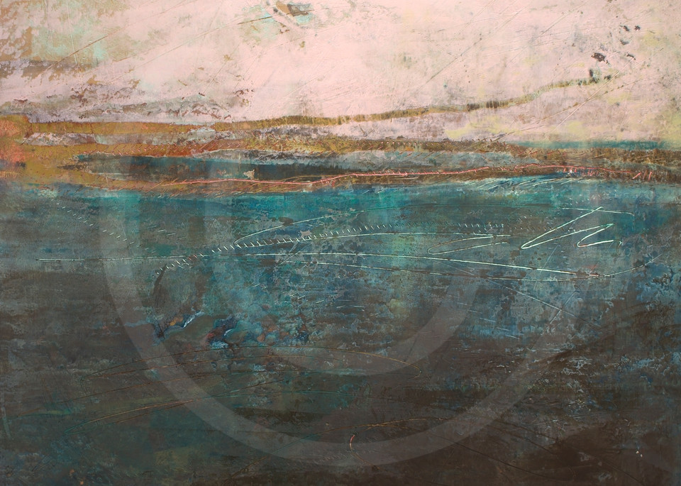 Almost Forgotten - Seascape Paintings - Simple Paintings