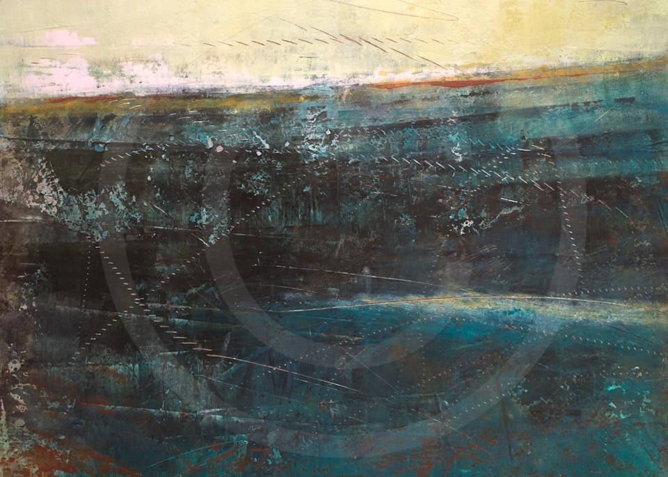 Deep End - Seascape Paintings - Fine Art by Victoria Primicias