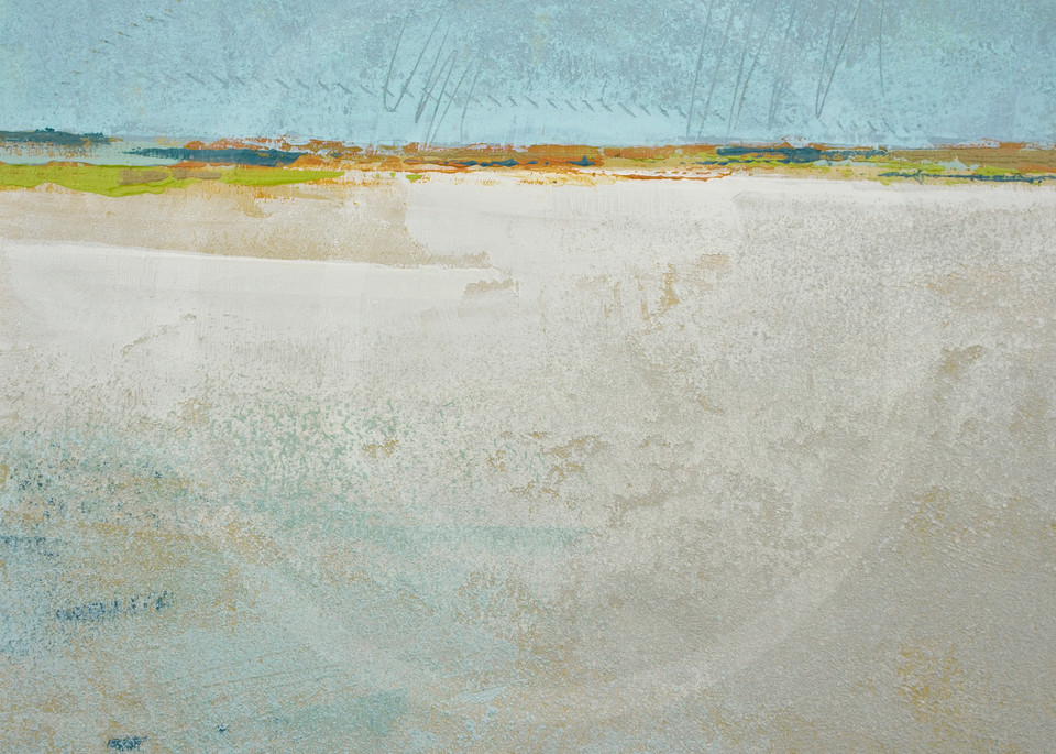 Alabaster Sands - Winter Landscape Paintings - Wall Art