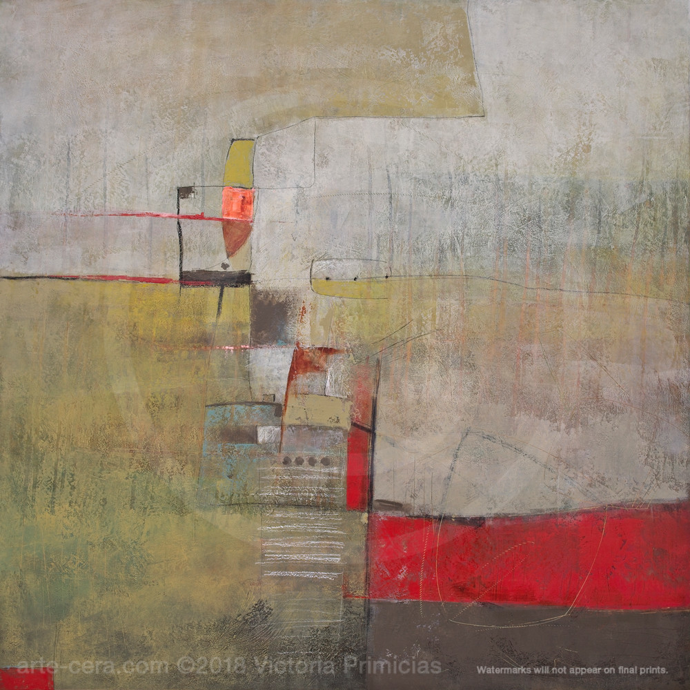 Lost Child - Abstract Canvas Wall Art