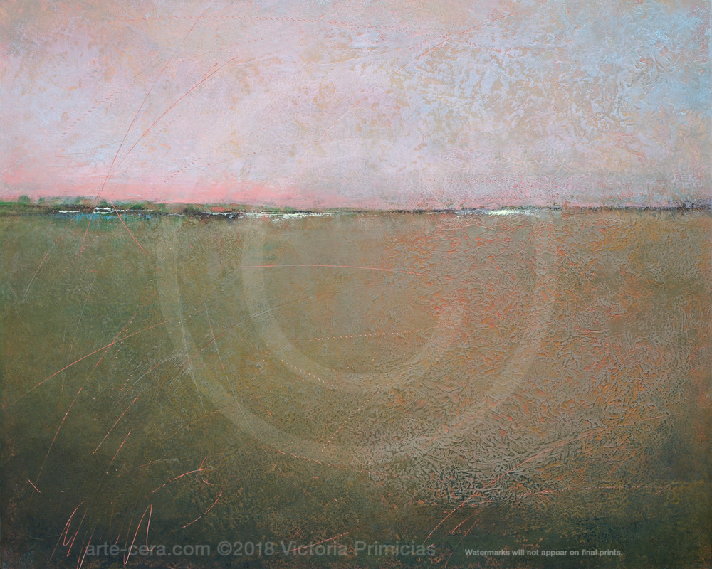 Hidden Glow - Contemporary Landscape Paintings and Prints