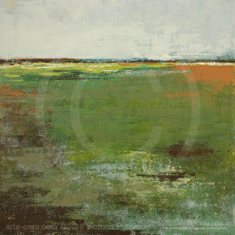 Spring Envy - Painting of Landscapes - Victoria Primicias