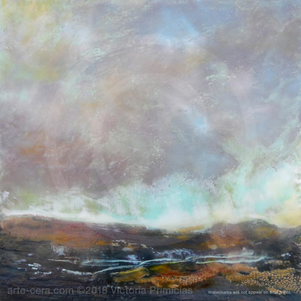 Purple Rain - Abstract Landscape Paintings - Wall Art