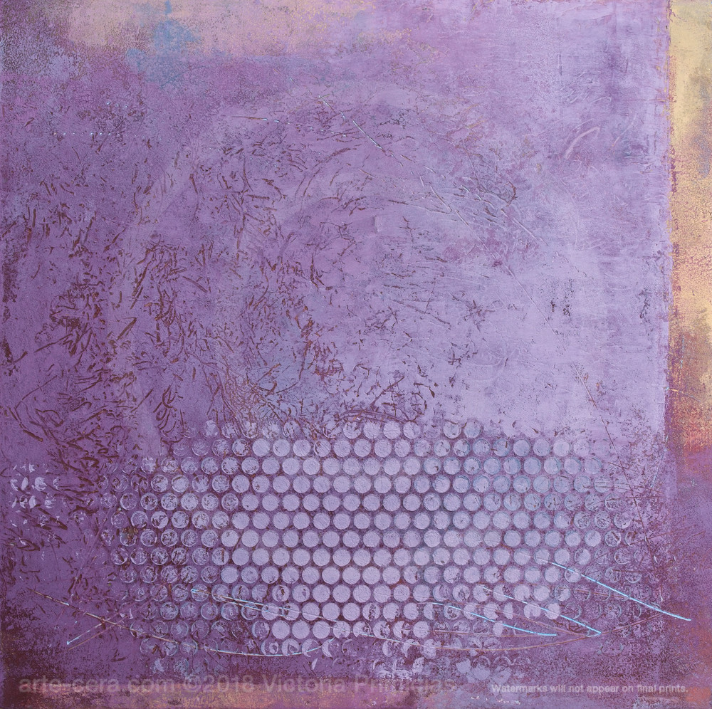 Within Reason - Purple Wall Art - Modern Abstract Paintings