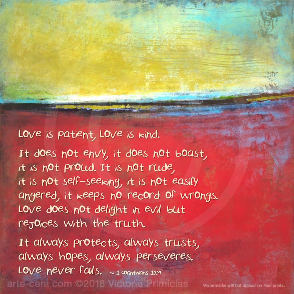 Poppy Love - Bible Verse of the Day - Corinthians