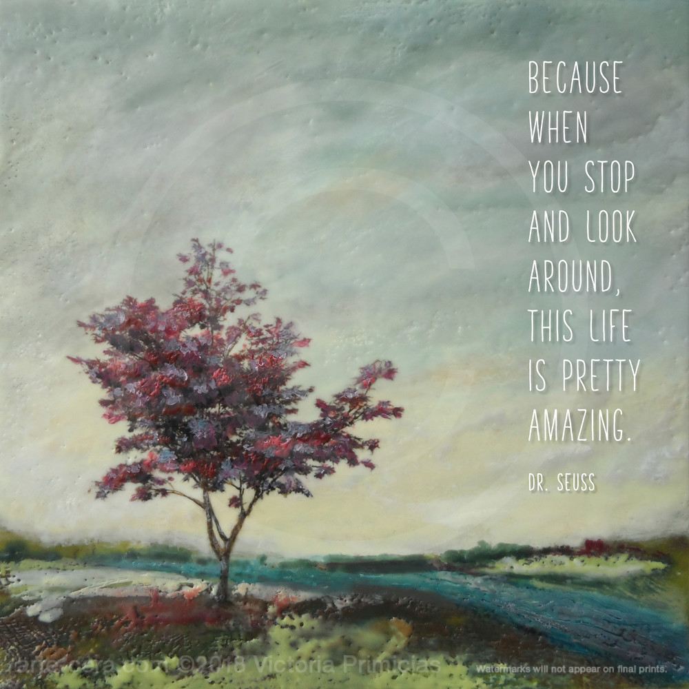 Crimson Consort - Life Is Quotes on Wall Art - Seuss