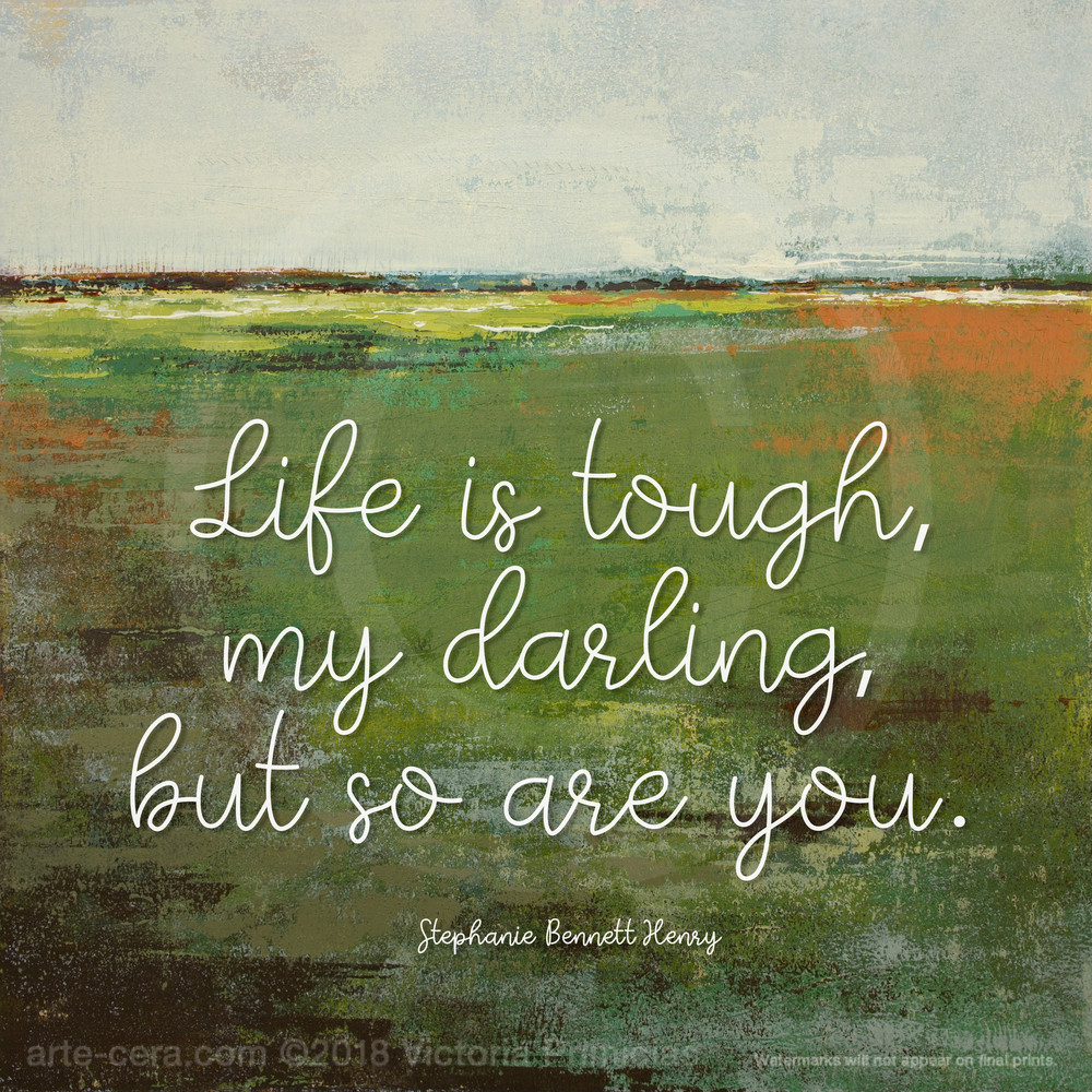 Spring Envy - Life Is Quotes on Wall Art - Henry