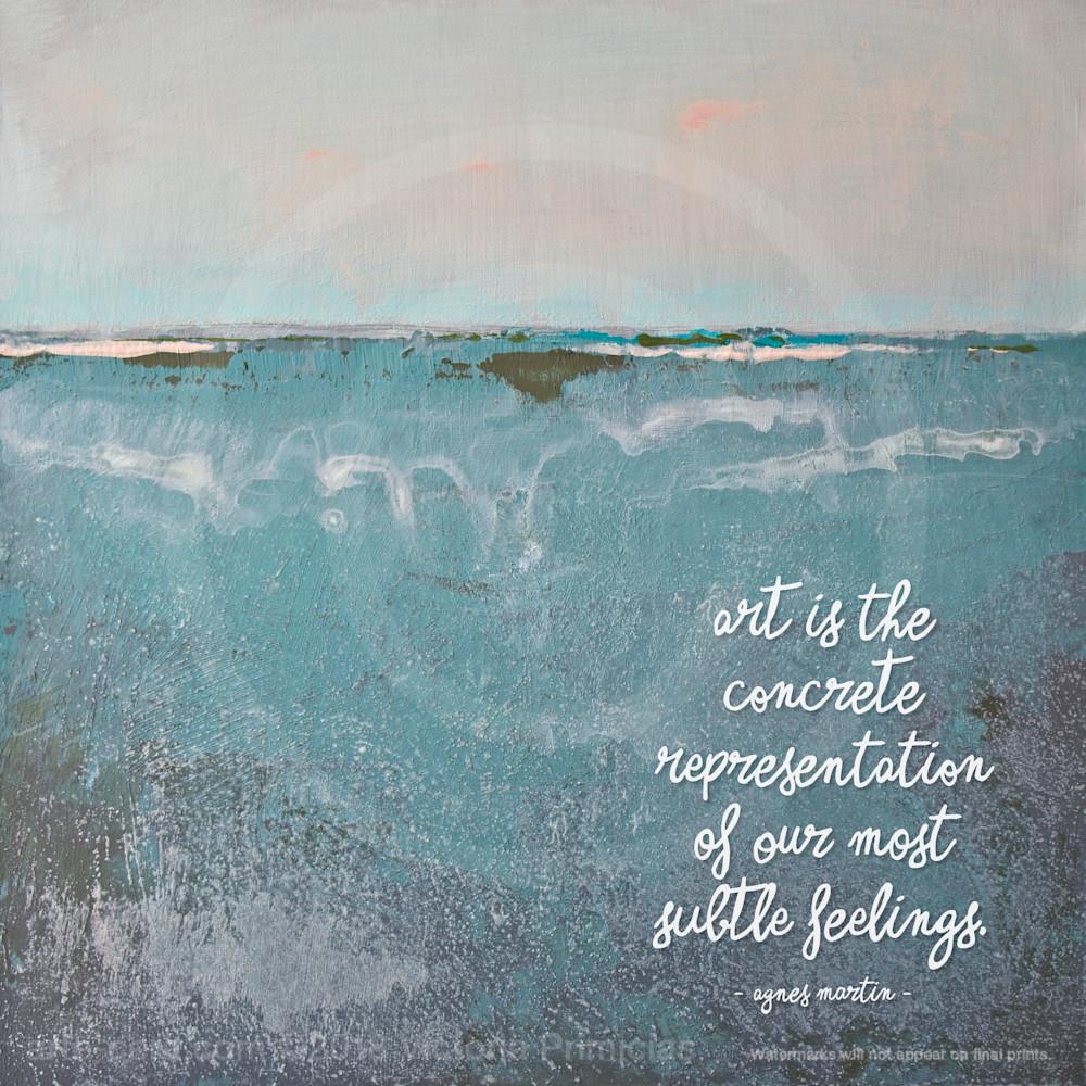 Delicate Dawn - Quotes on Canvas - Martin
