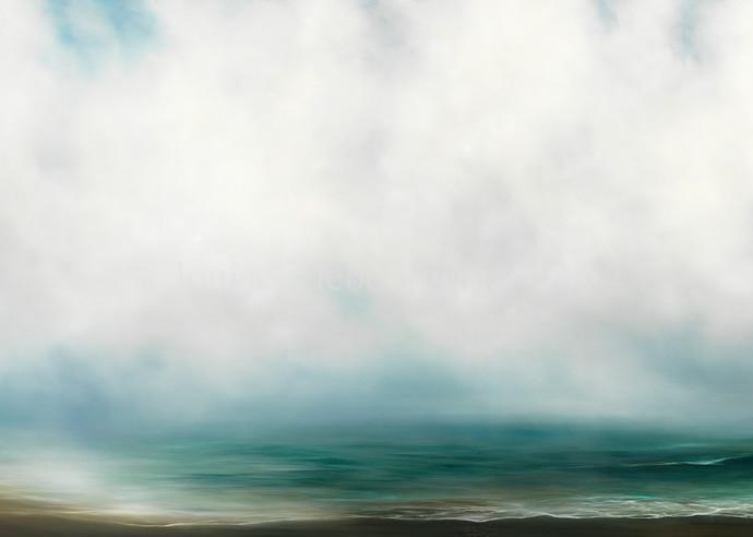 Winter Beach #515 Art   Louise LeBourgeois