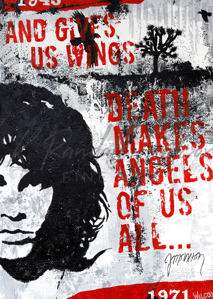 Morrison Death Makes Angels Of Us All... Art | K. Randall Wilcox Fine Art