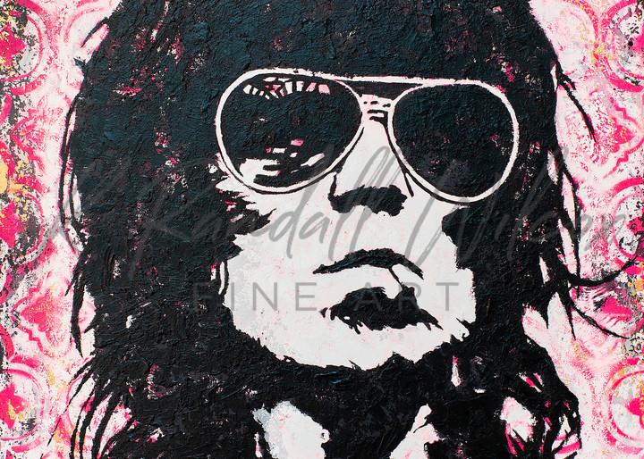 Keef Gimme Shelter Art | K. Randall Wilcox Fine Art