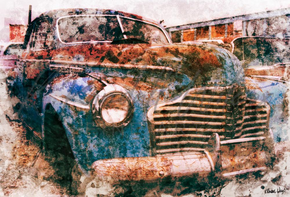 Ghost Of Tonopah Art | K. Randall Wilcox Fine Art