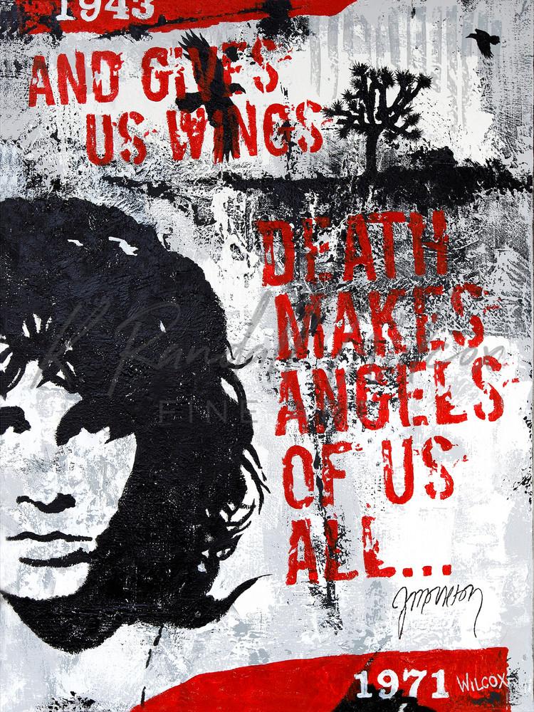 Morrison Death Makes Angels Of Us All... Art   K. Randall Wilcox Fine Art