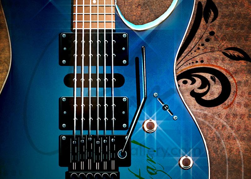 Nice Rockstar Guitar in Pop Art