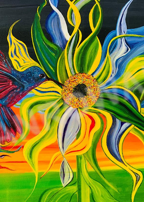 How Hummingbird's Get Their Colors Art | Brandon Manrow Fine Art