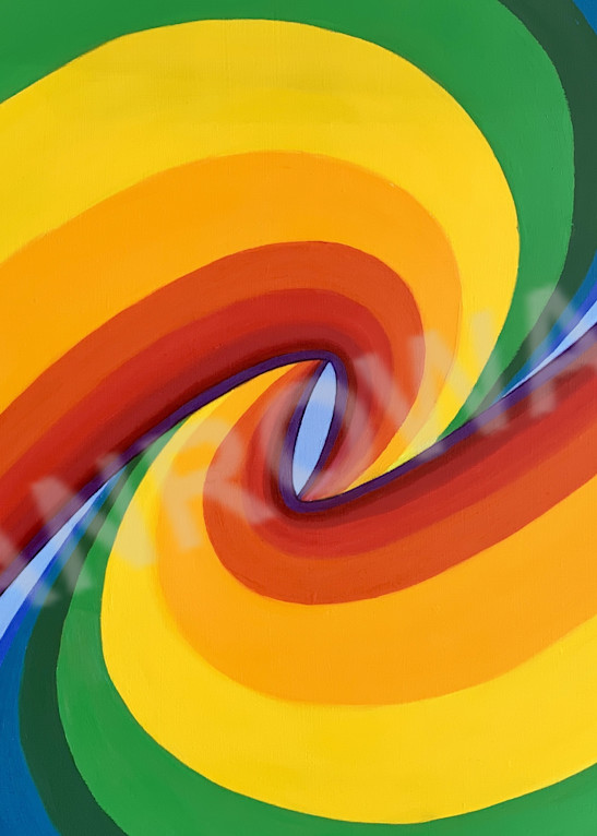 Birth Of A Rainbow (Right Horizontal) Art | Brandon Manrow Fine Art