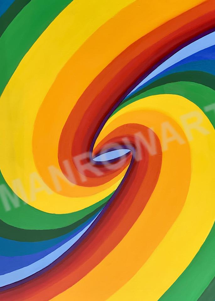Birth Of A Rainbow  Art | Brandon Manrow Fine Art