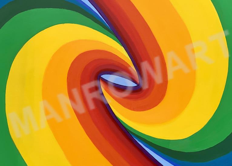 Birth Of A Rainbow (Right Vertical) Art | Brandon Manrow Fine Art