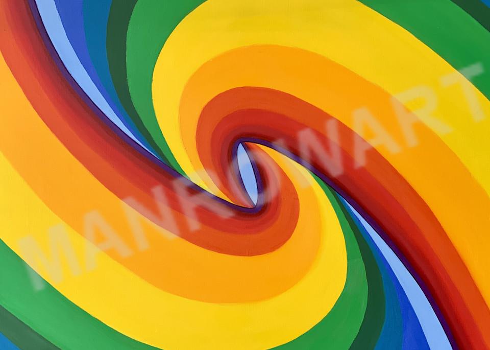 Birth Of A Rainbow (Left Horizontal) Art | Brandon Manrow Fine Art
