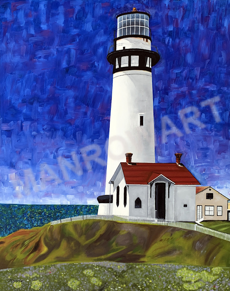 Pigeon Point Lighthouse Art | Brandon Manrow Fine Art