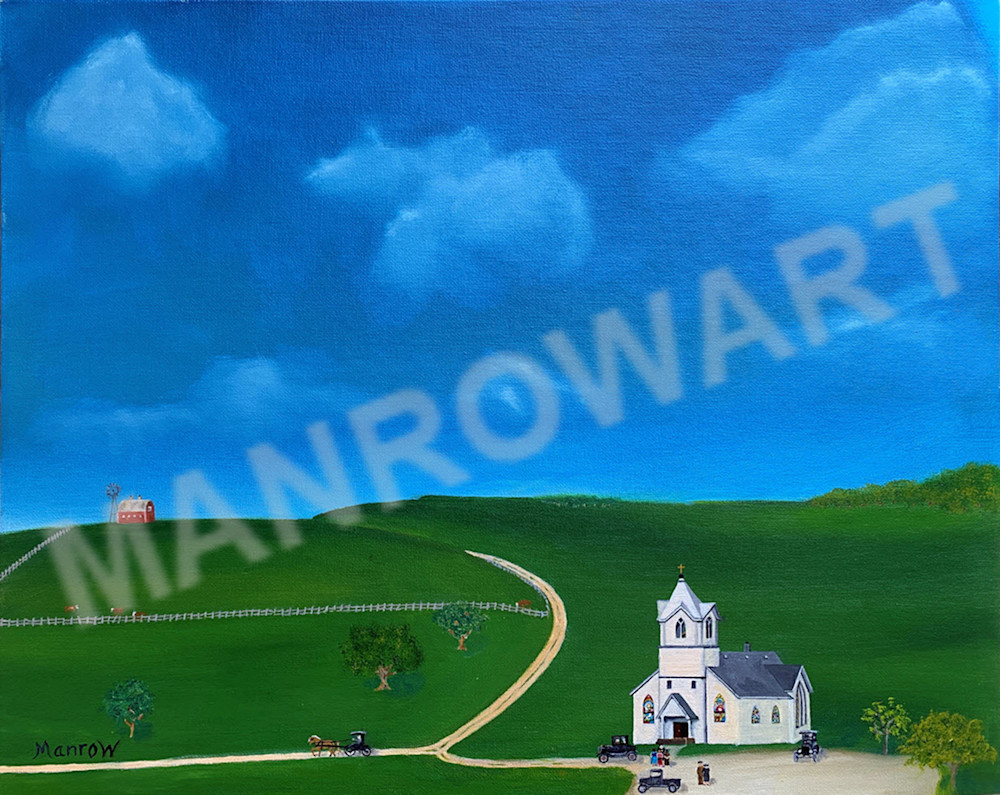 Sunday Stragglers Art   Brandon Manrow Fine Art