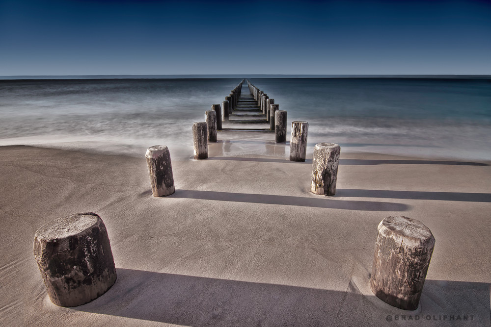 landscape photographs of ocean piers, art photographs of piers, images of Coney Island New York,