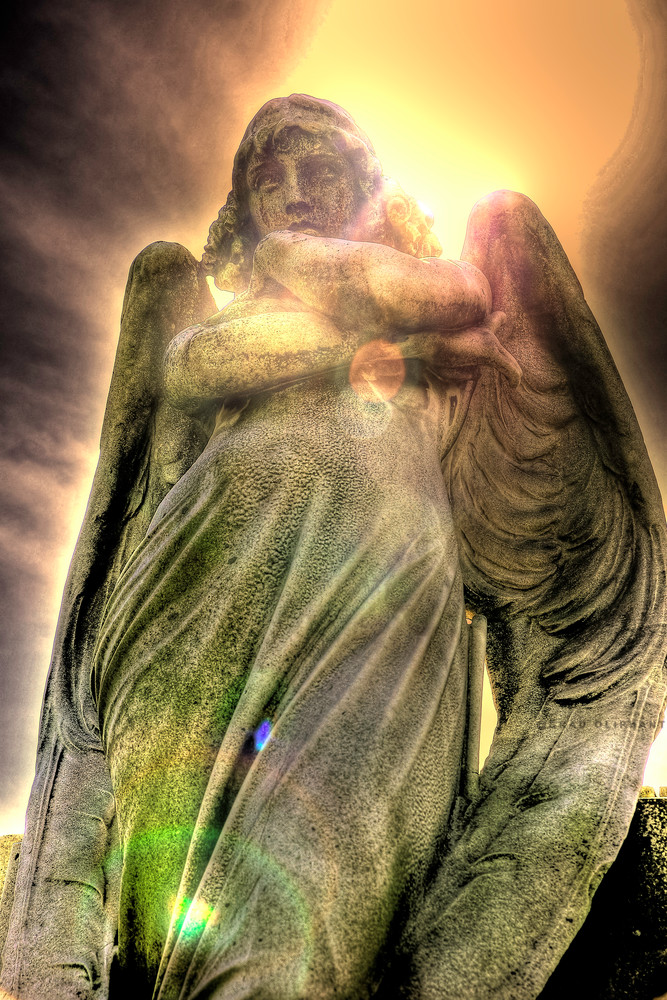 Winged angels, arch angels, spiritual angels,