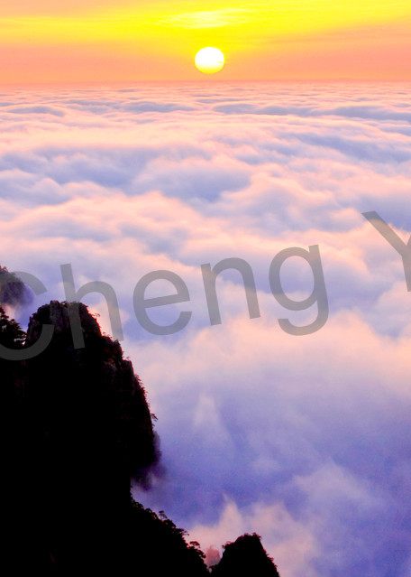 Mountains And Clouds 032 Photography Art   Cheng Yan Studio