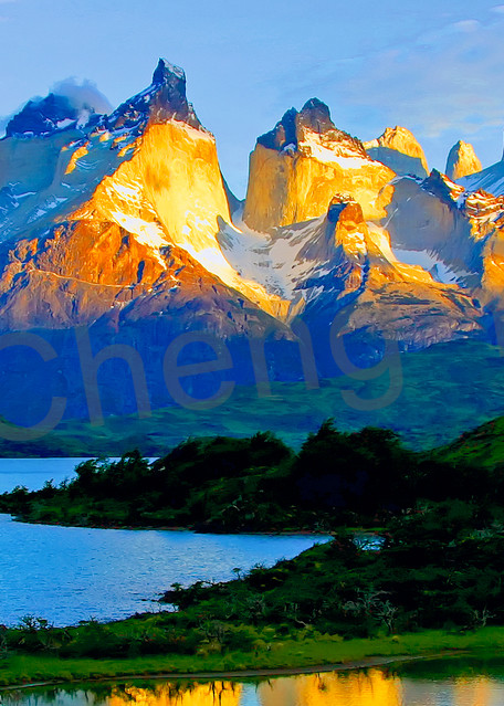 Mountains And Clouds 033 Photography Art | Cheng Yan Studio
