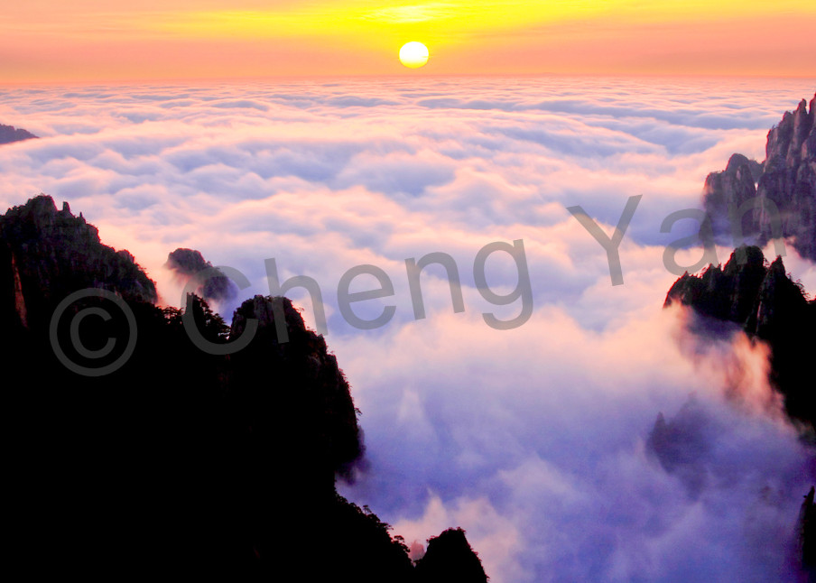 Mountains And Clouds 032 Photography Art | Cheng Yan Studio