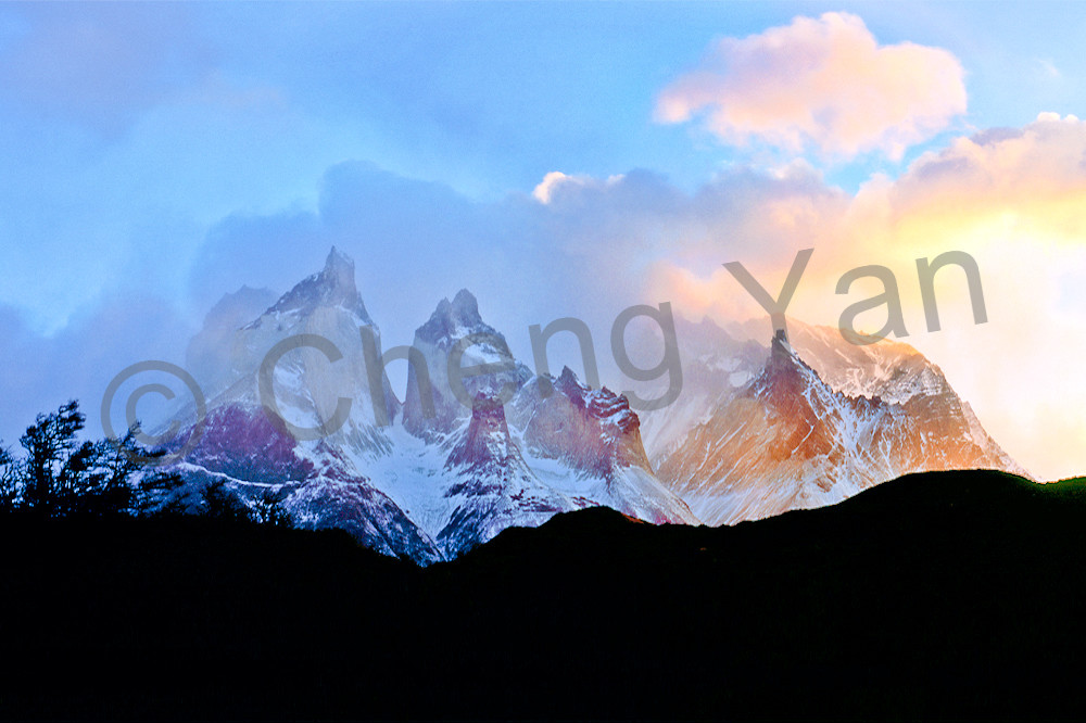 Mountains And Clouds 045 Photography Art | Cheng Yan Studio