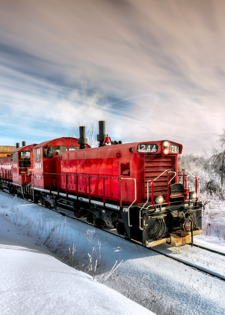 Working The Winter Rails Photography Art   Trevor Pottelberg Photography