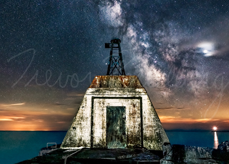 The Abandoned Watchtower Photography Art | Trevor Pottelberg Photography