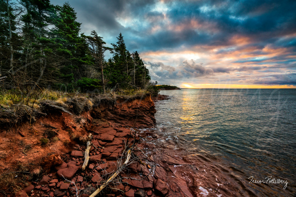 Point Prim Sunrise Photography Art | Trevor Pottelberg Photography