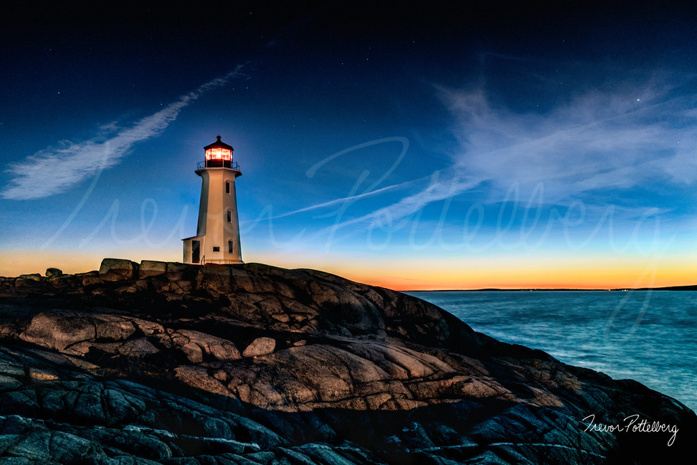 Twilight On The Rock Photography Art | Trevor Pottelberg Photography